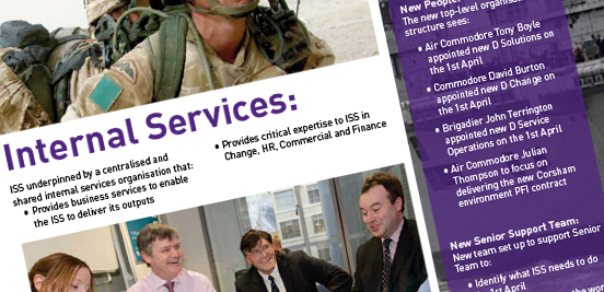 Ministry of Defence ISS flyers