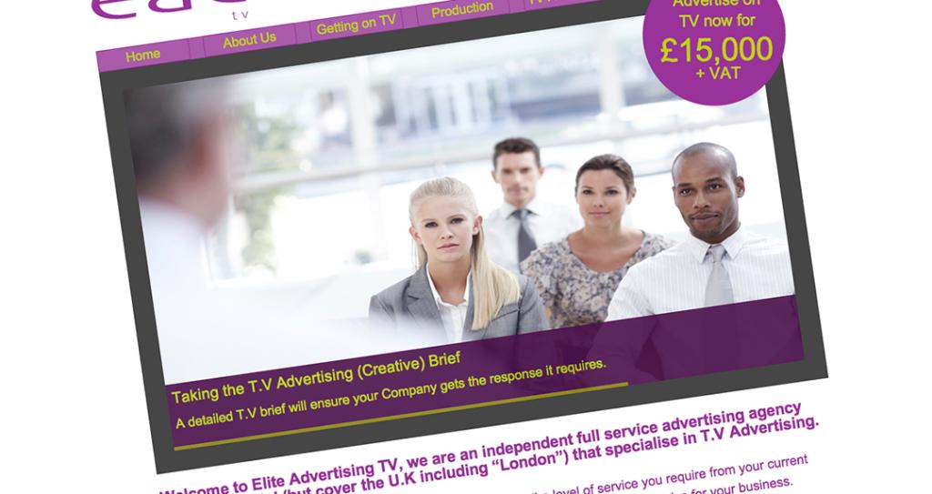 Elite Advertising Consultants TV website