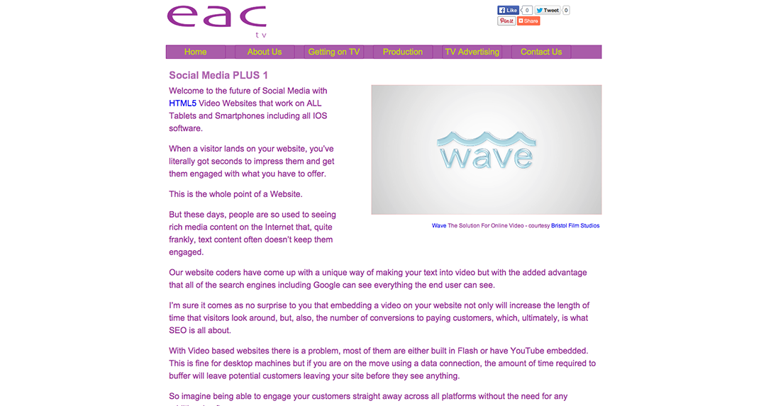 EAC TV Social Media Plus 1