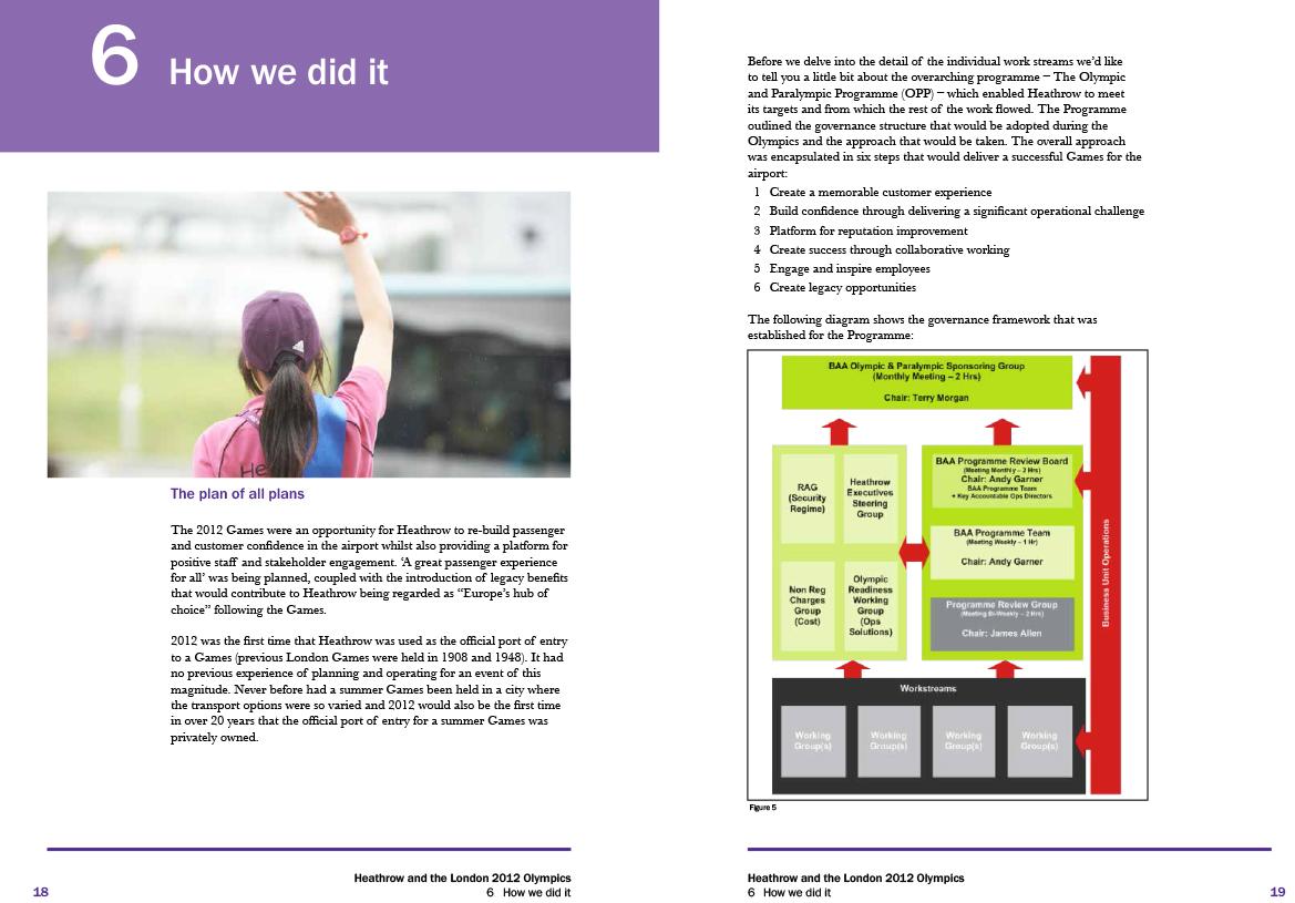 Heathrow 2012 Olympics report