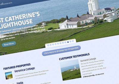Rural Retreats Lighthouses microsite