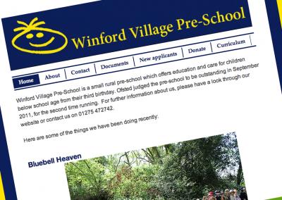 Winford Pre-School website