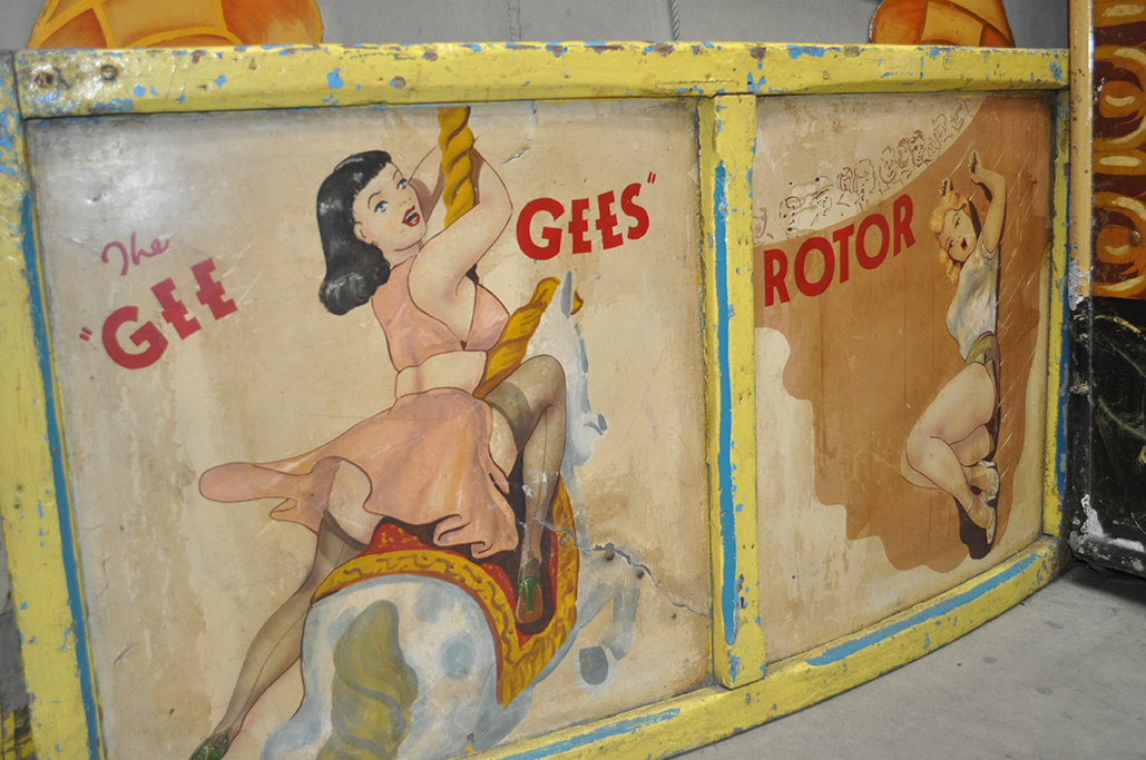 Dingles Fairground Heritage Centre artwork