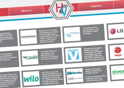 H&V 100 website
