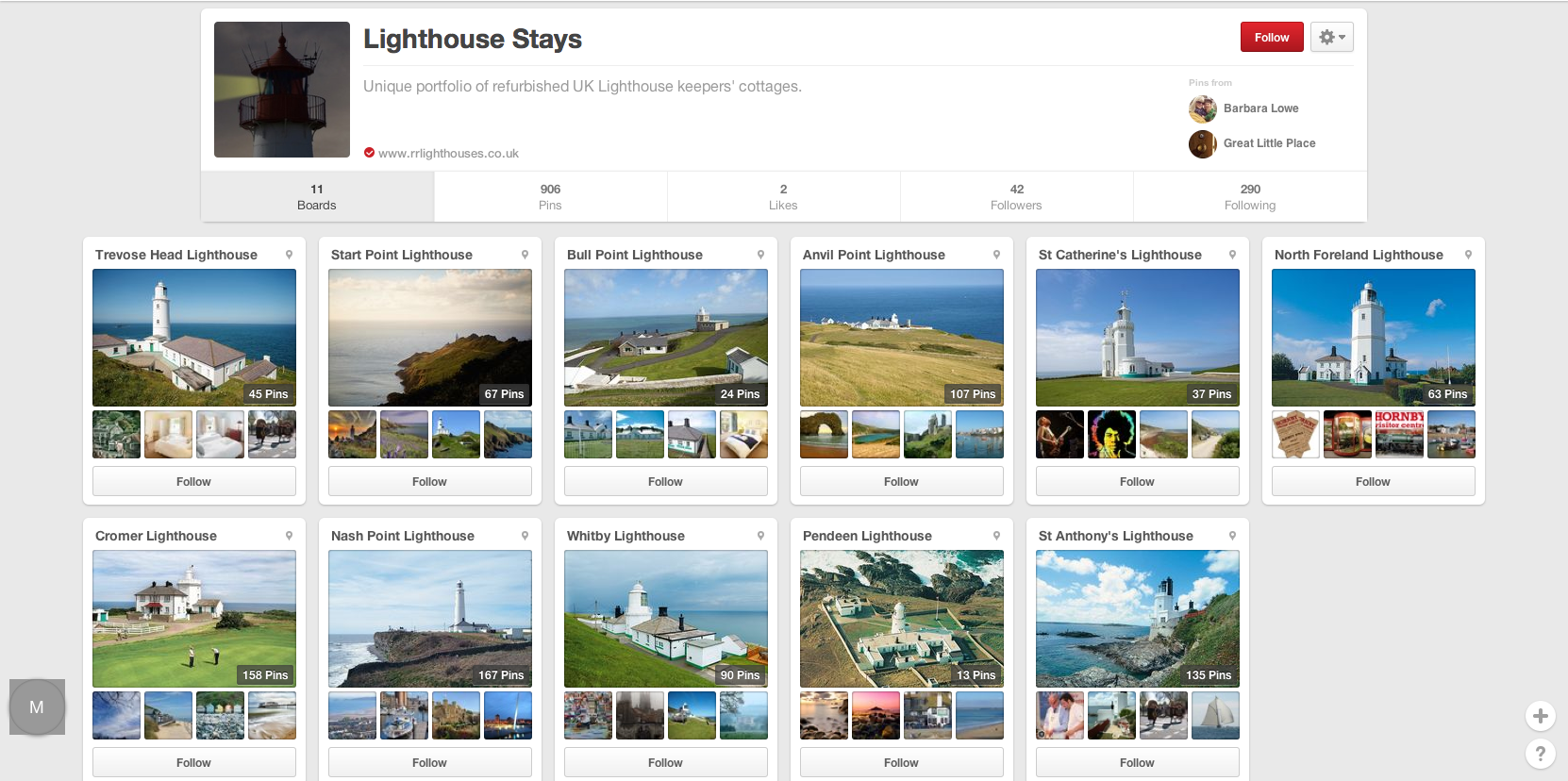 Rural Retreats Lighthouses Pinterest Boards