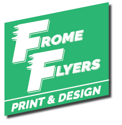 Frome Flyers – Print and Design logo