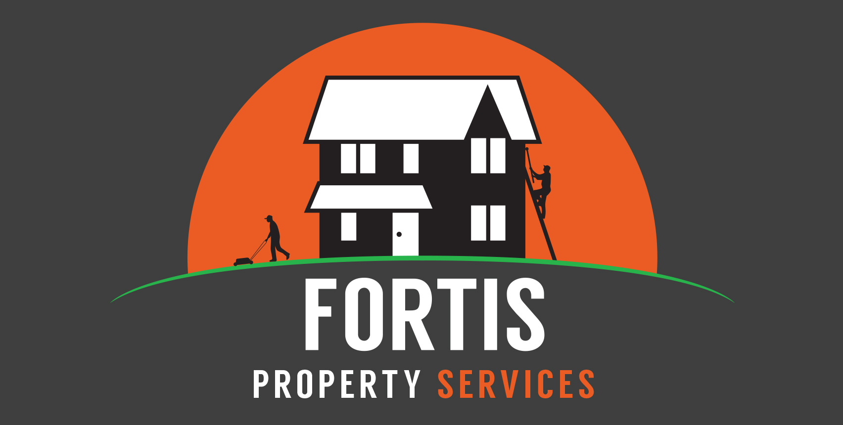 Fortis Property Services Logo alternative reverse