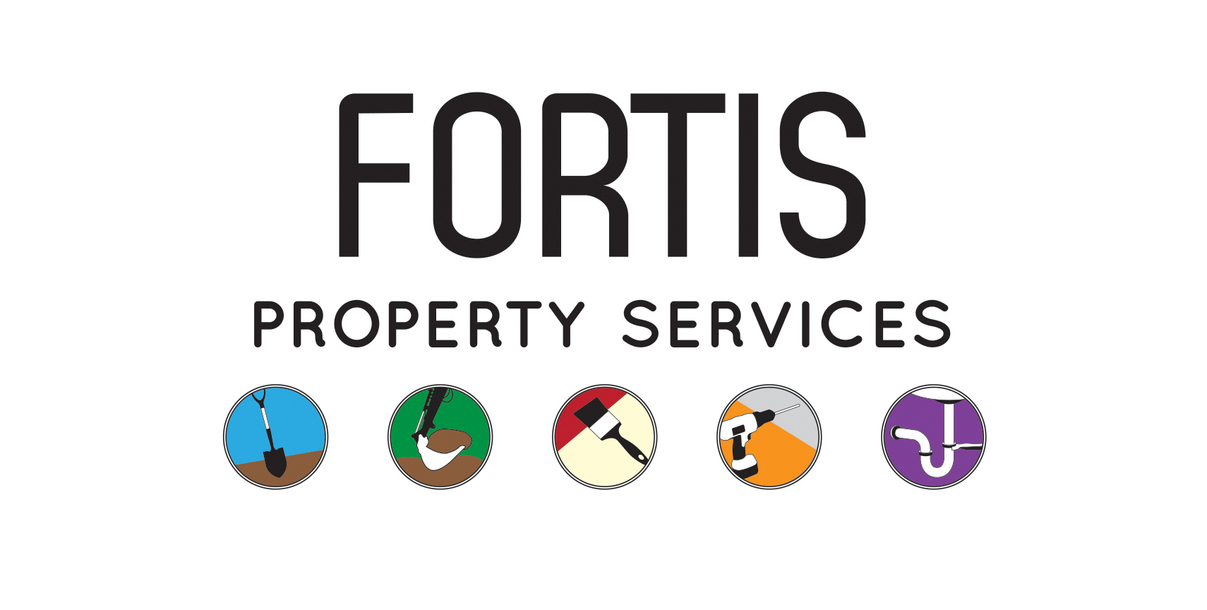 Fortis Property Services Logo second alternative colour
