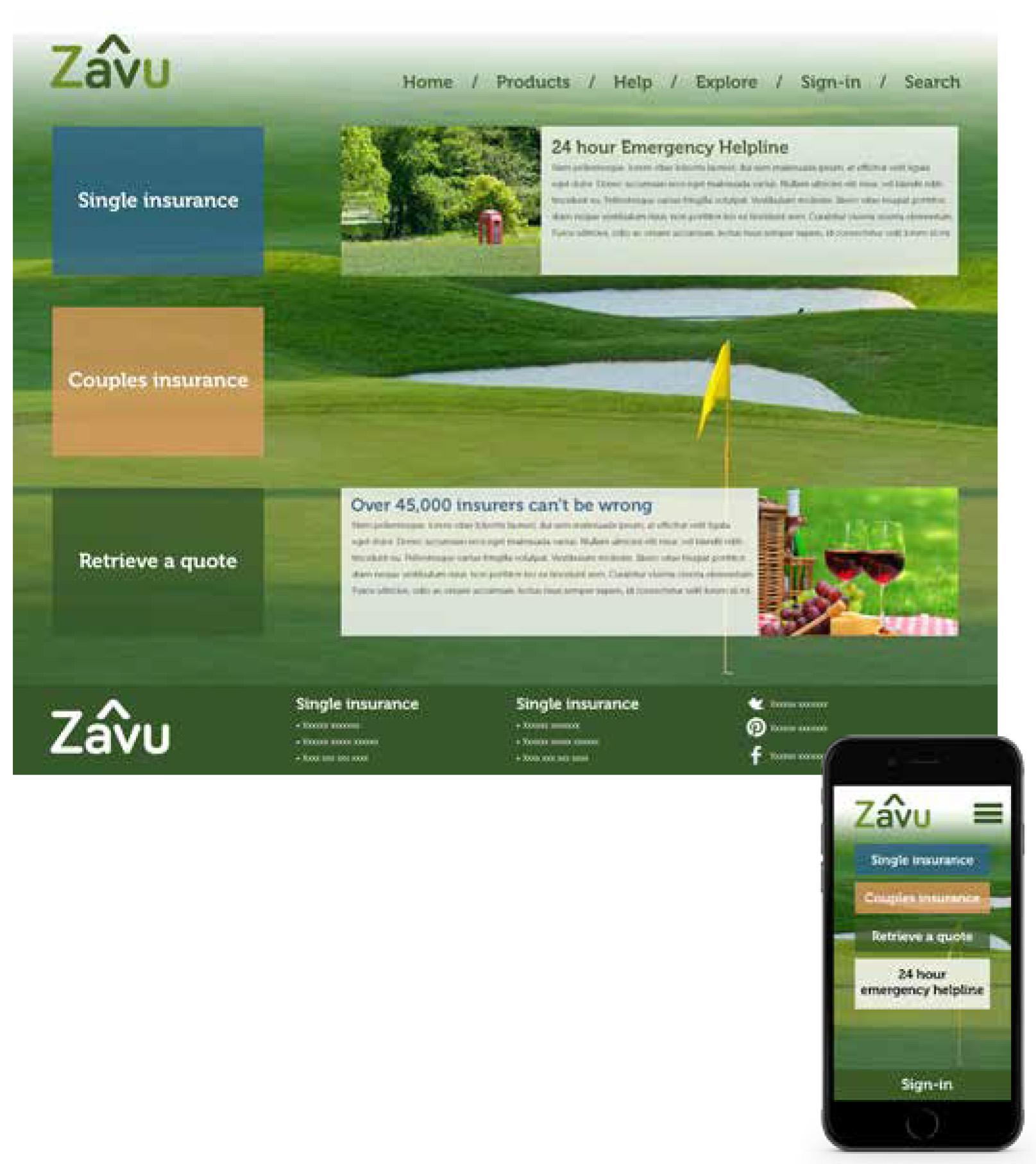 zavu Web Page
