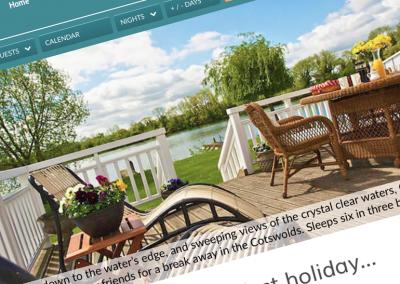 Staycation Holidays website