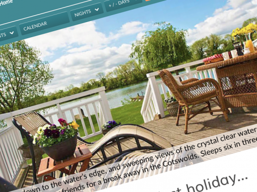 Staycation Holidays website
