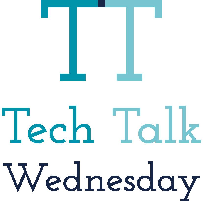 Tech Talk Wednesday Logo