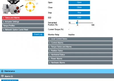 Master Station user interface
