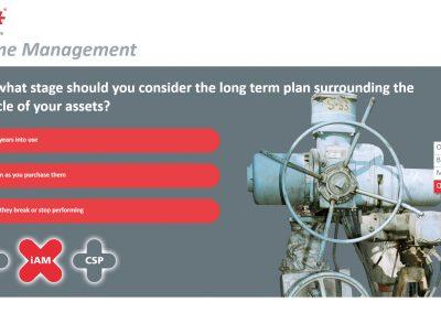 Lifetime management web app