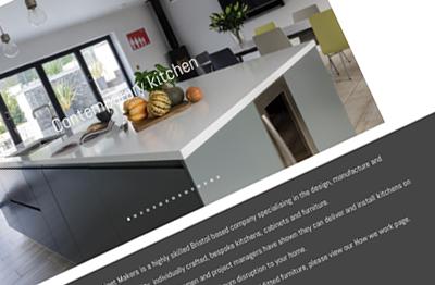 Beaufort Bespoke Kitchens website