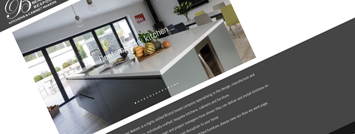 Beaufort Bespoke Kitchens website