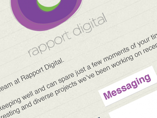 Rapport Digital responsive email templates