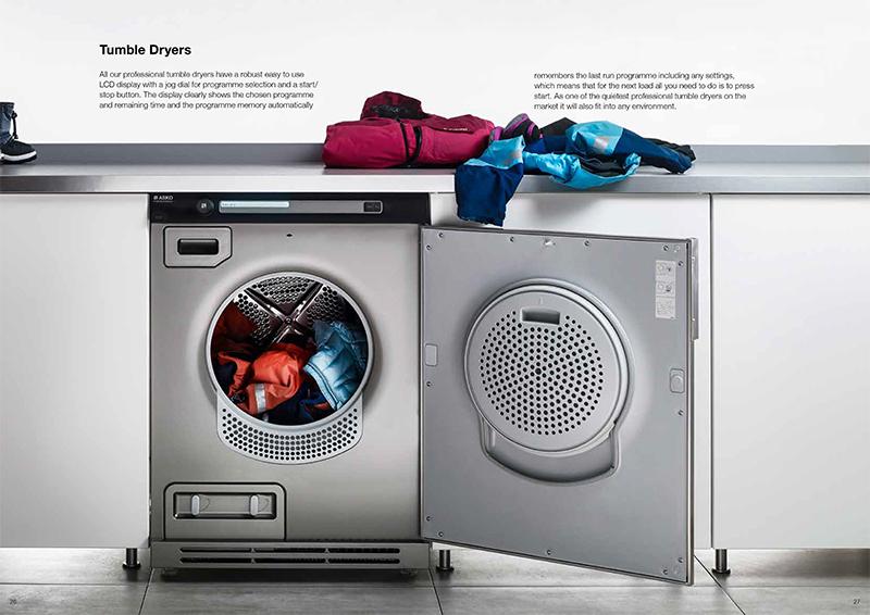 Laundry catalogue spread