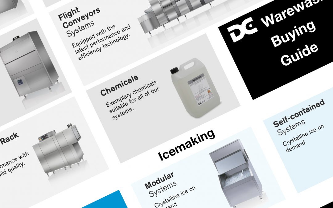 DC Products website redesign